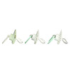 NUK, Orthodontic Pacifier Value Pack,, 0-6 Months, Green, 3 Pack