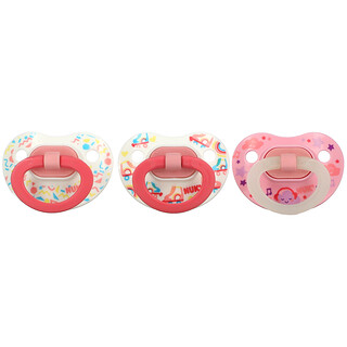 NUK, Orthodontic Pacifier Value Pack, 6-18 Months, 3 Pack