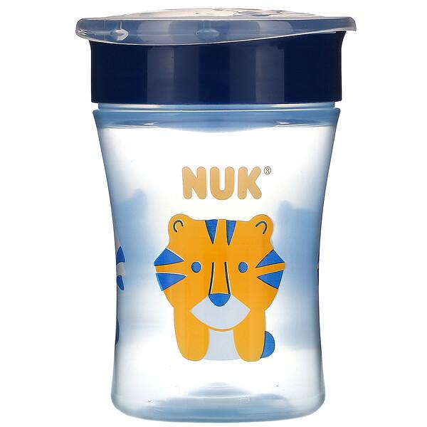 NUK, Evolution 360 Cup, Blue, 8+ Months, 1 Cup, 8 oz (240 ml)