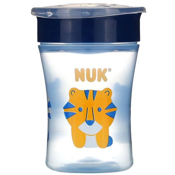 NUK, Evolution 360 杯,蓝色,8 个月以上,1 杯,8 盎司(240 毫升) (Discontinued Item)