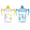 NUK, Evolution Learner Cup, Blue, 6+ Months, 2 Pack, 8 oz Each
