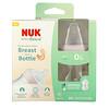 NUK, زجاجات Simply Natural، لحديثي الولادة، بطيئة التدفق، عبوتان، 5 أونصة (150 مل) لكل منهما