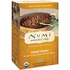 Numi Tea, Organic Tea, Herbal Teasan, Honeybush, Caffeine Free, 18 Tea Bags, 1.52 oz (43.2 g)