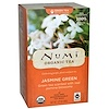 Numi Tea, Organic Green Tea, Medium Caffeine, Jasmine Green, 18 Tea Bags, 1.27 oz (36 g)