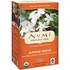 Numi Tea, 유기농 차, 녹차, 자스민 그린,18 티백 18, 1.27 oz (36 g)
