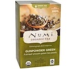 Numi Tea, Organic Green Tea, Medium Caffeine, Gunpowder Green, 18 Tea Bags, 1.27 oz (36 g)