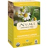 Numi Tea, Organic Tea, Herbal Teasan, Chamomile Lemon, Caffeine Free, 18 Tea Bags, 1.08 oz (30.6 g)