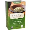 Numi Tea, Organic Green Tea, Higher Caffeine, Maté Lemon, 18 Tea Bags, 1.46 oz (41.4 g)