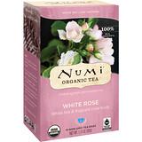 Отзывы о Numi Tea, Органический чай, белый чай, белая роза, 16 чайных пакетиков, 1,13 унц. (32 г)