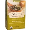 Numi Tea, Organic Green Tea, Toasted Rice, 18 Tea Bags, 1.65 oz (46.8 g) Each