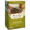 Numi Tea, Organic Tea, Green Tea, Toasted Rice, 18 Tea Bags, 1.65 oz (46.8 g) Each