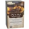 Numi Tea, Organic, Emperor's Pu-erh, 16 Tea Bags