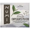 Numi Tea, オーガニックプーアル茶、エンペラーズプーアル、ティーバッグ16個、32g(1.13オンス)