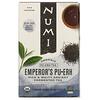 Numi Tea, Organic Pu-Erh Tea, Emperor's Pu-Erh, 16 Tea Bags, 1.13 oz (32 g)