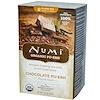 Numi Tea, Organic, Chocolate Pu-Erh, 16 Tea Bags, 1.24 oz (35.2 g)
