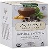 Numi Tea, Organic, Indulgent Tea, Chocolate Mint, 12 Tea Bags, 1.38 oz (39 g)