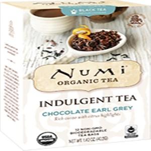 Нуми Ти, Organic, Indulgent Tea, Chocolate Earl Grey, 12 Tea Bags, 1.42 oz (40.2 g) отзывы