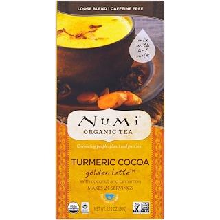 Numi Tea, Organic, Turmeric Cocoa, Golden Latte, Caffeine Free , 2.12 oz (60 g)