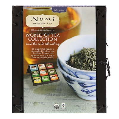 Numi Tea 世界有機茶系列,45個茶包,3.42盎司(97克)
