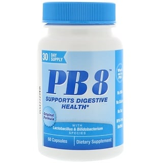 Nutrition Now, PB8, Original Formula, 60 Capsules