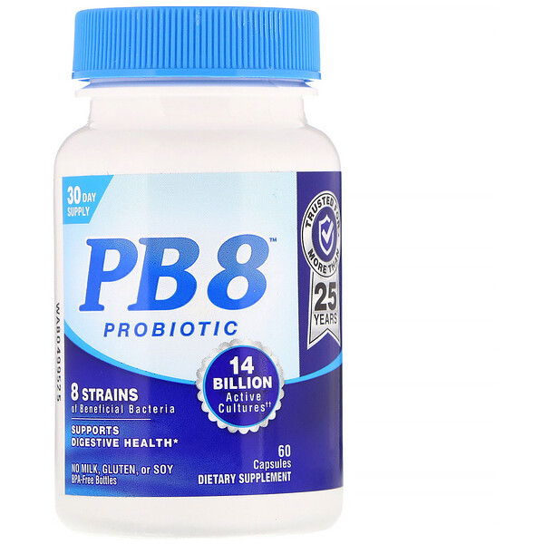 Nutrition Now, PB 8, Probiotic, 60 Capsules