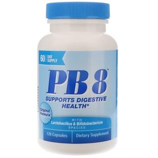 Nutrition Now, PB8, تركيبة أصلية، 120 كبسولة