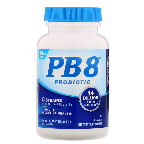 Nutrition Now, PB 8 Probiotic, 120 Capsules