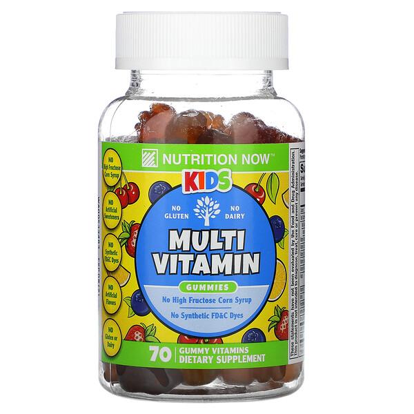 Nutrition Now, Kids Multi-Vitamin Gummies, 70 Gummy Vitamins