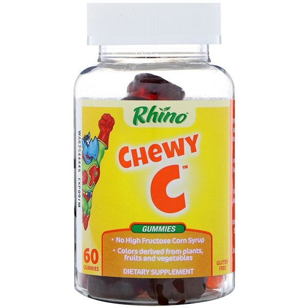Nutrition Now, Rhino, Chewy C, 60 Gummies
