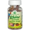 Nutrition Now, Rhino, Gummy Veggie-Fruit, 60 Sour Gummy Bears (Discontinued Item)