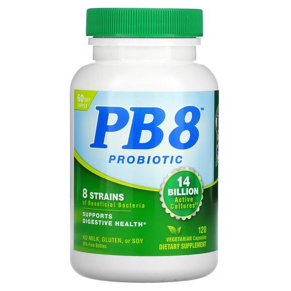 PB 8 Probiotic, 120 Vegetarian Capsules