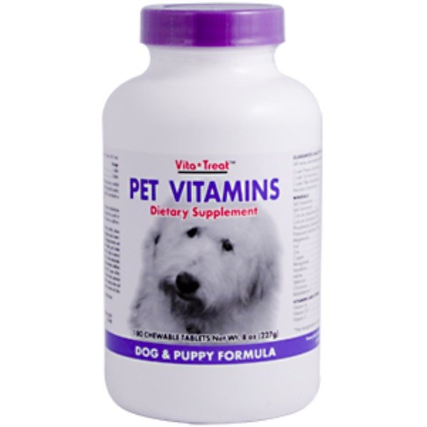Nutrition Now, Vita-Treat, Pet Vitamins, 180 Chewable Tablets (Discontinued Item)