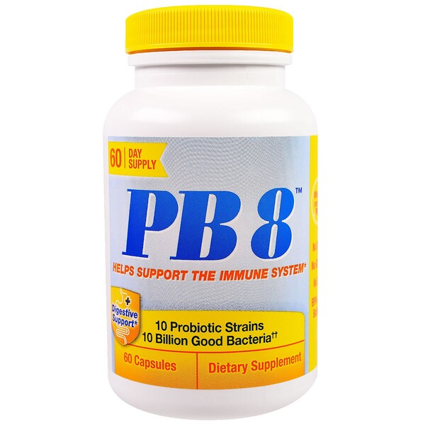 Nutrition Now, PB 8, Immune Support, 60 Capsules