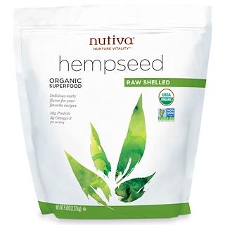 Nutiva, Organic Hemp Seed Raw Shelled, 5 lbs (2.27 kg)
