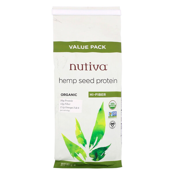 Organic Hemp Seed Protein, 30 oz (851 g)