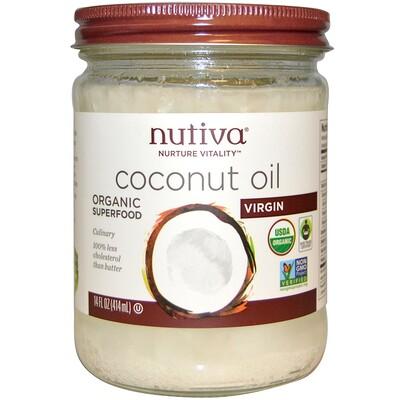Купить Органический суперпродукт, кокосовое масло, Virgin, 15 жидкой унции (444 мл)