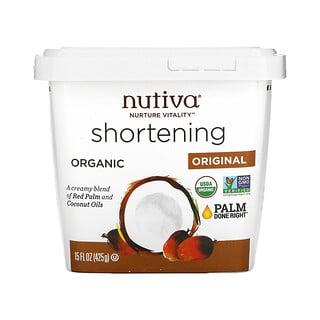 Nutiva, 有机起酥油,原味红棕榈油 + 椰子油,15 盎司(425 克)