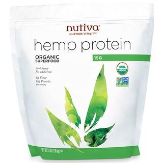 Nutiva, Organic Hemp Protein 15g, 3 lbs (1.36 kg)