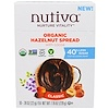 Nutiva, Organic Hazelnut Spread, Classic, 10 Packets, .78 oz (22 g) Each