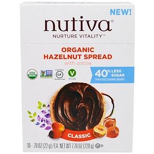 Нутива, Organic Hazelnut Spread, Classic, 10 Packets, .78 oz (22 g) Each отзывы покупателей