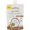 Nutiva, Squeezable Orgânico, Coconut Manna, Amêndoa, 6,2 oz (176 g)