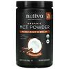 Nutiva, TCM Orgânico em Pó, Chocolate, 300 g (10,6 oz)
