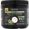 Nutiva, Pó de MCT Orgânico, Matcha, 10,6 oz (300 g)