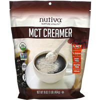 Nutiva, MCT Creamer, 16 oz (454 g)