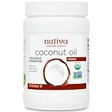 Отзывы о Nutiva, Натуральное очищенное кокосовое масло, 29 жидких унций (858 мл)