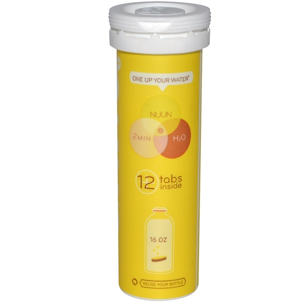 Nuun, Electrolyte Enhanced Drink Tabs, Banana, 12 Tablets (Discontinued Item)
