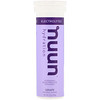 Nuun, Effervescent Electrolyte Supplement, Grape, 10 Tablets