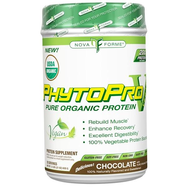 NovaForme, Phytopro, Chocolate, 600 Grams (Discontinued Item)