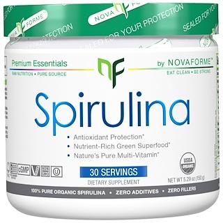 NovaForme, Spirulina, Certified USDA Pure Organic Spirulina, 5.29 oz (150 g)