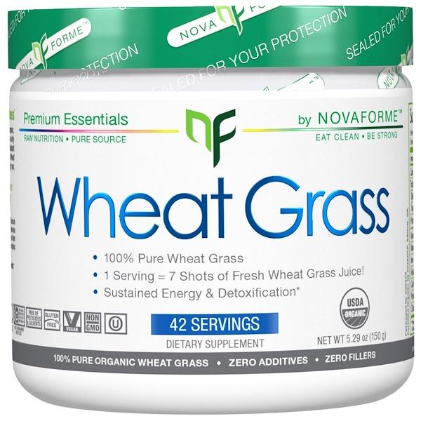 NovaForme, Organic Wheat Grass, 5.29 oz (150 g) (Discontinued Item)
